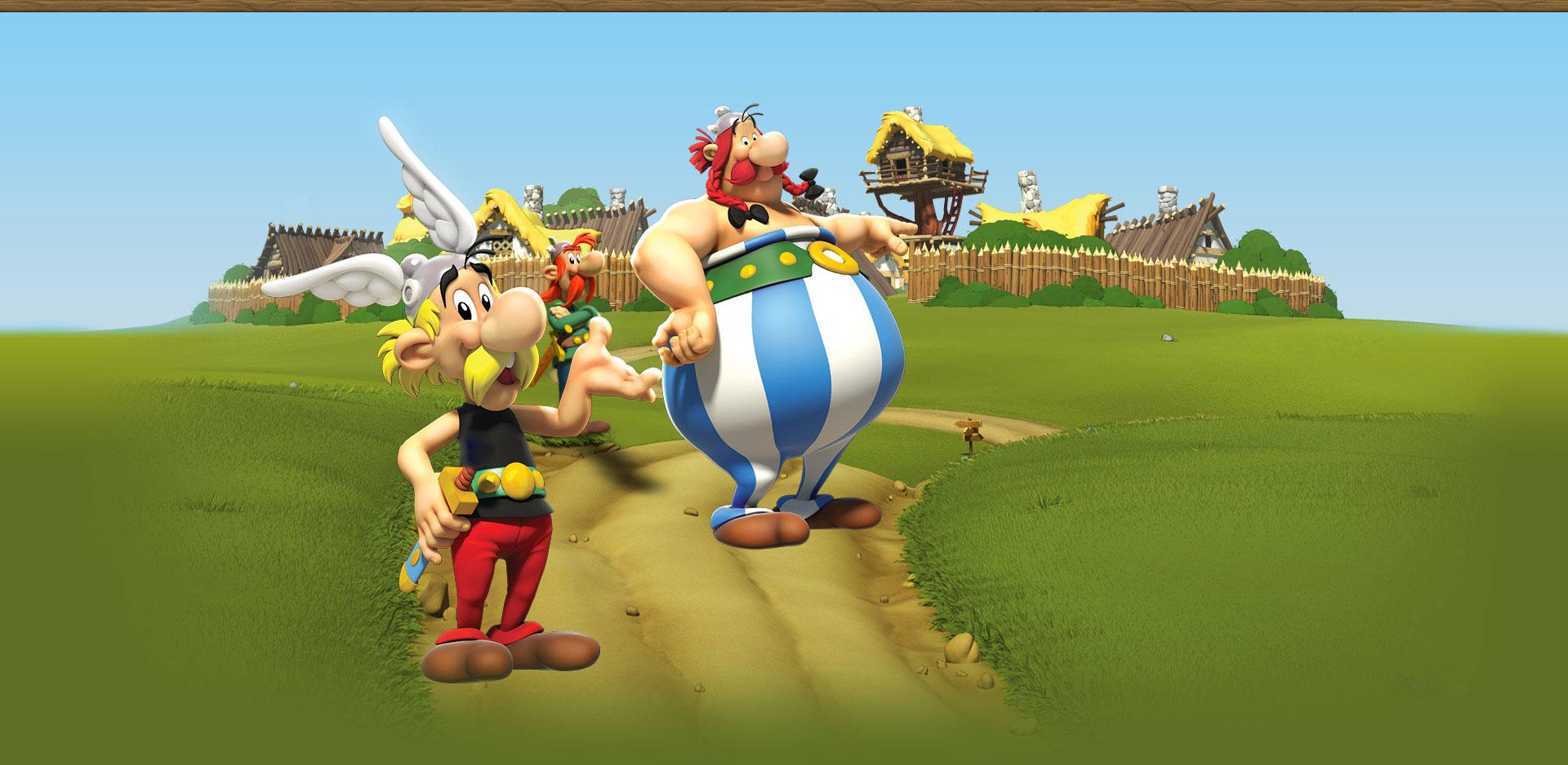 asterix friends